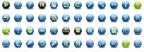 Bộ icon tròn đẹp! Circle icon